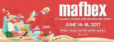 MAFBEX 2017: Manila Food & Beverage Expo