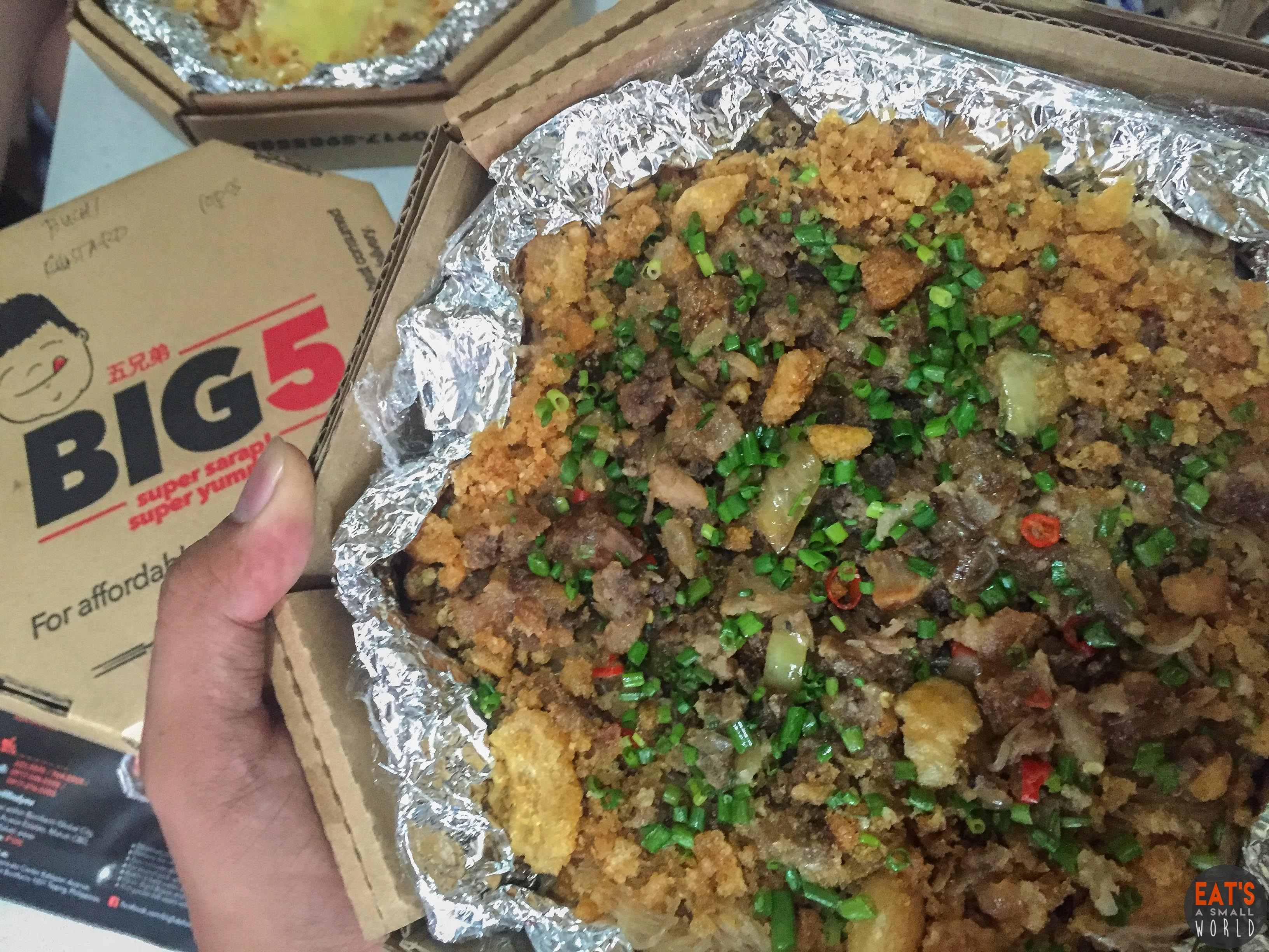 BIG 5 Food Delivery and Take Out (Promo Alert!)