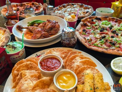 Irresistible New Pizzas by Amici
